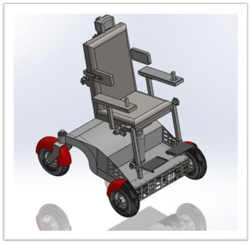 Diseño y fabricación de silla de ruedas motorizada