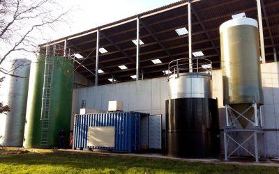 Valorización energética y producción de biofertilizantes