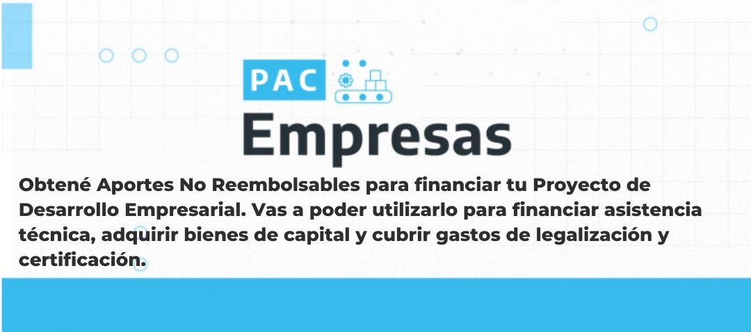 Charla Informativa: Programa de Acceso a la Competividad Empresas (PAC Empresas)