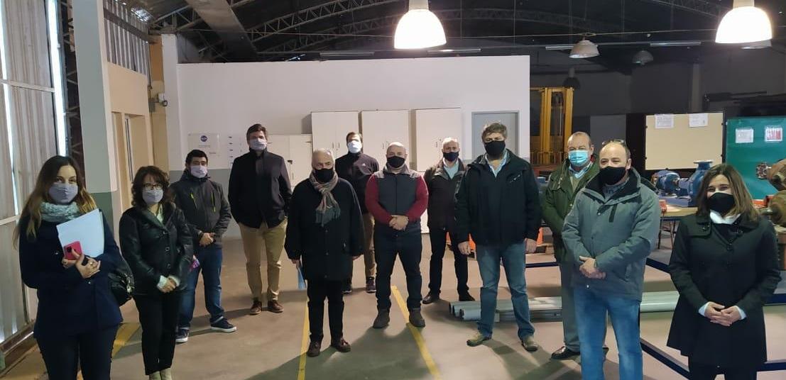 Reunión Parque Industrial de Bahía Blanca – Municipio de Tres Arroyos – UTN Facultad Regional Bahía Blanca